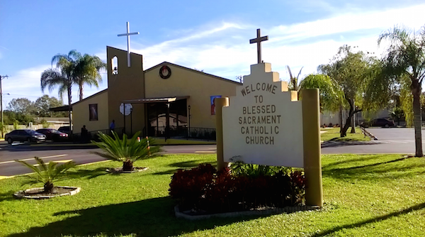 welcome to blessed sacrament catholic church blessed sacrament