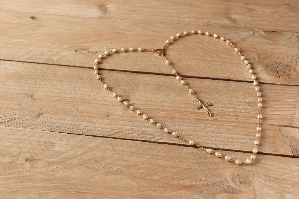 the rosary, prayer, first communion