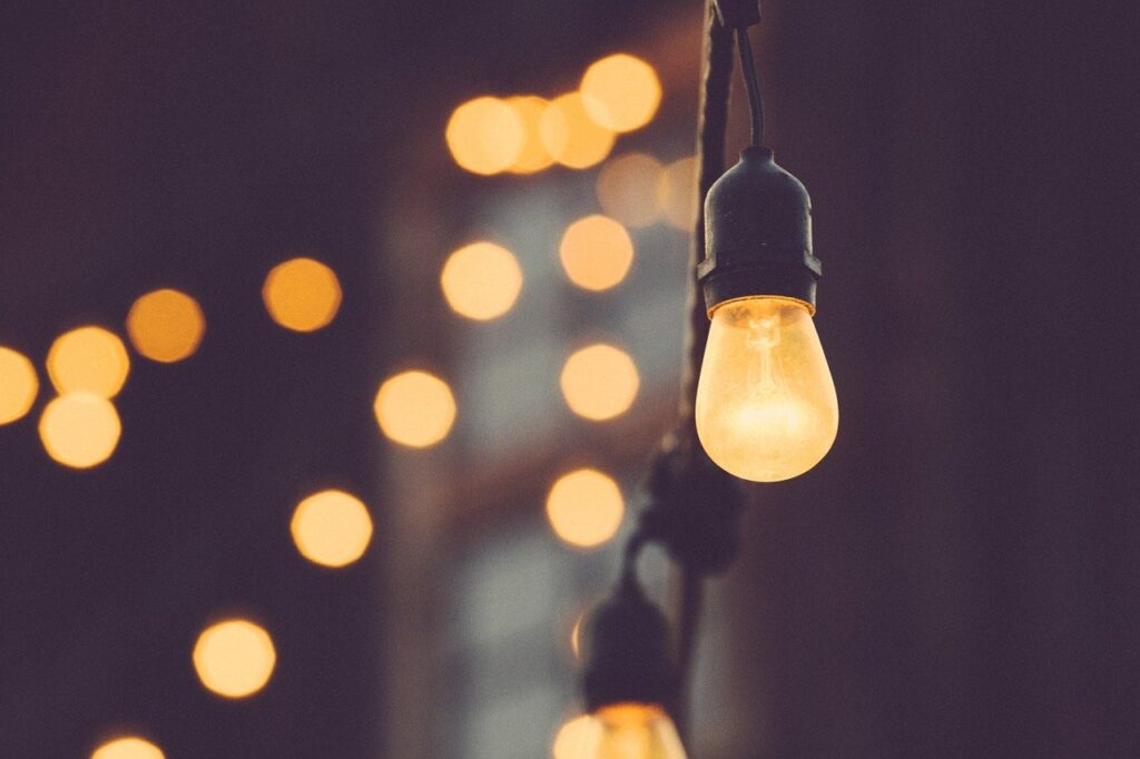 light bulb, lights, electricity