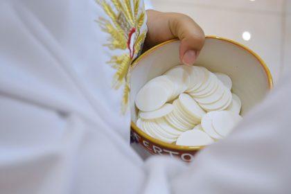 communion, host, christ