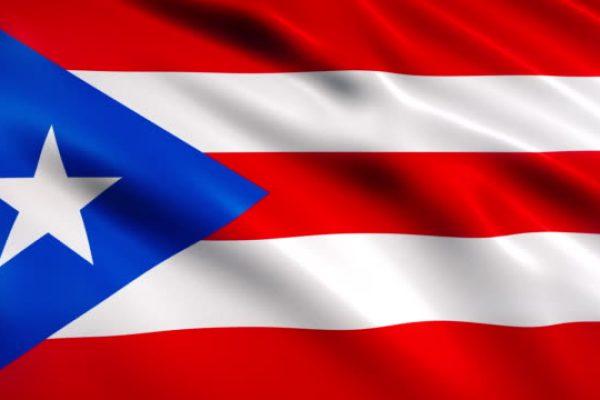 Puerto Rico Flag Animation (Close-up)